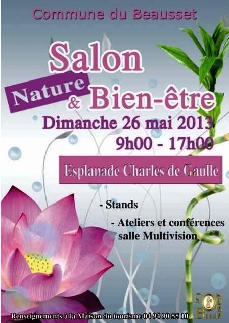 26 mai 2013 salon nature et bien tre au beausset for Salon bien etre rennes